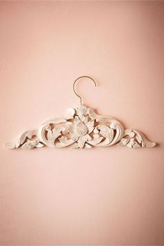 Closet treats… Artistic hanger. BHLDN Balinese Carved Wood Hanger in Décor Gifts at BHLDN
