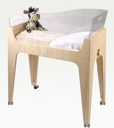 French companyCastor & Chouca came up with this beautiful and eco-friendly collection of baby furniture.