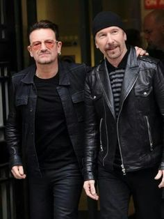 U2 - Bono and The Edge