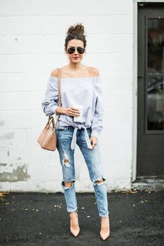 Fall Off-The-Shoulder