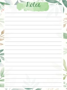 Daily Planner Printable, Planner Template, Bullet Journal Ideas Pages, Bullet Journal Inspiration, Notes Template, Templates, Powerpoint Background Design, Cute Notes, Stationery Paper
