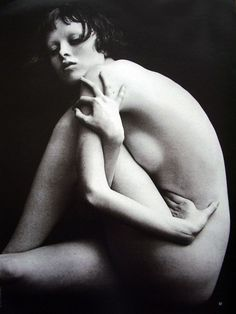 Marie Claire Germany, March 1997 - Karen Elson by Peter Lindbergh