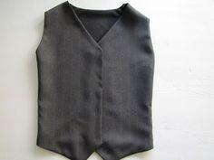 mama says sew: Boy's Vest Tutorial