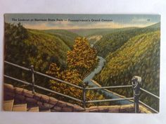 Lookout~Wellsboro PA~Pennsylvania Grand Canyon~Harrison State Park~Tichnor