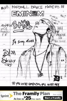 CHOOSE YOUR SIZE FREE P+P Eminem Poster POP ART  Slim Shady ICON Quality Large
