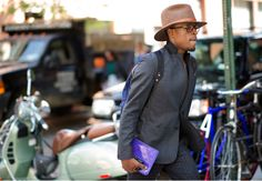 Street Style: The Suited Men of New York Fashion Week