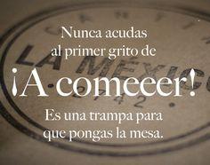 ¡Comparto el consejo para que no caigan! ;) ¡Provecho! #fraseDelDia