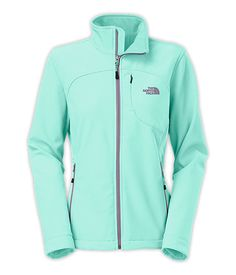 love the color!!! -- with a hood would be awesome!! -- The North Face Women's Jackets & Vests SOFTSHELLS WOMEN'S APEX BIONIC JACKET - NEW FIT -- but with a hood