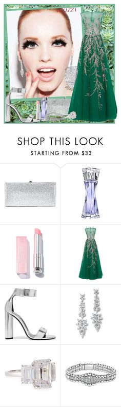 """It is Easy being Green ..."" by krusie ❤ liked on Polyvore featuring Jimmy Choo, Lancôme, Georges Hobeika, Tom Ford, Fantasia by DeSerio, Lagos, men's fashion and menswear"