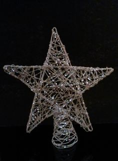 How to make a star shaped Christmas tree topper