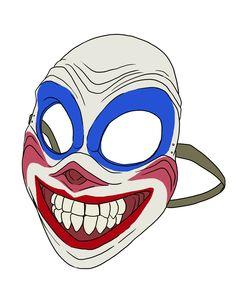 Drawlloween 2015: Mask by ProdigyDuck.deviantart.com on @DeviantArt