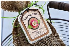 {thank you...at the very least} stamp of the week from unity stamp company - card created by Unity Design Team Member Thienly Azim