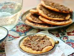 Meat pies are a must in all of the Levant, however, each region or community prepares them a bit differently.  Traditional syrian meat pies