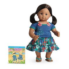American Girl Bitty Twin Tropical Skirt Set for Dolls