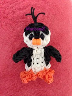 Penguin - rainbow loom