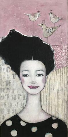 Monica Blom Art: Den andra  av tre tavlor