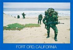 Vintage Fort Ord postcard circa 1970's.