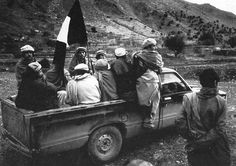 A truckload of Afghan fighters during the 1980s. (Collection of David Isby), pin by Paolo Marzioli