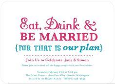 Holding a Pre-Destination Wedding Reception: Ask Etta | Wedding Paper Divas Blog