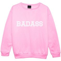 Badass Sweater Jumper Funny Fun Tumblr Hipster Swag Grunge Kale Goth... ($22) ❤ liked on Polyvore featuring tops, sweaters, black, sweatshirts, women's clothing, retro sweaters, cropped sweater, black sweater, black crop top and black star sweater