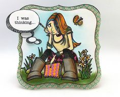 I was thinking .... by thedailymarker, via Flickr  . . . colouring master!