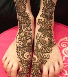 Simple Arabic Mehndi 25 Fabulous Foot Mehndi Designs for Your Next Event