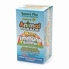 Natures Plus Animal Parade Kids Immune Booster Chewables Natural Tropical Berry 90 ea *** Click image for more details. (This is an affiliate link) #VitaminsSupplements