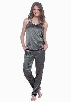 Faballey satin pyjamas