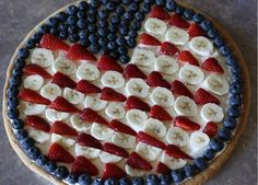 Great recipe for a Forth of July Dessert.  Very simple recipe with very few ingredients.