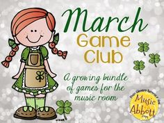 March Game Club {A Growing Bundle of Games for the Music Room}