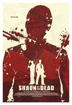[ SHAUN OF THE DEAD POSTER ]