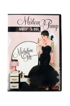 Modern Pinup:  Makeup and Hair Tutorial DVD by Micheline Pitt | Pinup Girl Clothing