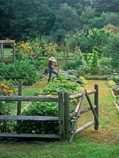 Potager garden - Remarkable Large Backyard Garden Tips Ideas – Potager garden Big Garden, Water Garden, Dream Garden, Garden Tips, Vege Garden Ideas, Garden Pool, Garden Bed, Spring Garden, Cottage Gardens