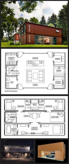 Adam Kalkin's Shipping Container House - clickbank.dunway.... #containerhome #shippingcontainer