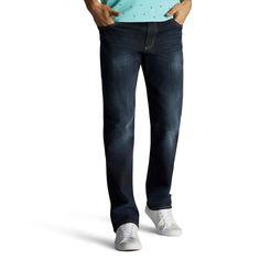 Men's Lee Extreme Motion Jeans, Size: 34X32, Dark Blue