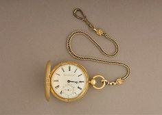 Relógio de bolso de Lincoln é aberto e revela mistério de 150 anos