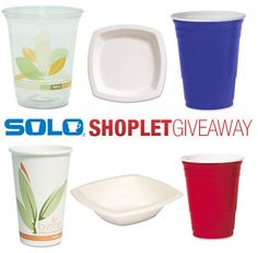 Our weekly giveaway for this week is sponsored by Solo! Click on the link to read more! Brought to you by Shoplet.com - Everything for your business. #Giveaway #Solo
