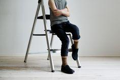 STOR: Til jeans, skjørt eller babyshortsen. Her har storegutt Ministrikks muldvarpfargede strømper til. Kids Wear, Sporty, Tank Tops, How To Wear, Style, Fashion, Swag, Moda, Halter Tops