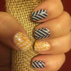 Check out Slatted Herringbone paired with Sunny Lotus!  http://jamwitherina.jamberrynails.net