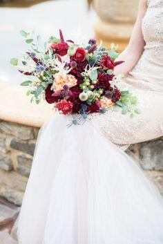 Autumnal Vineyard Wedding Inspiration | Cathy Durig Photography | We Tie The Knots | Bridal Musings Wedding Blog 45