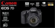 Canon EOS 7D Kit EFS 15-85mm IS USM Rp.18.520.000.- | Bonus Exclusive EOS Jacket