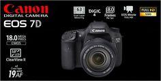 Canon EOS 7D Kit EFS 15-85mm IS USM Rp.18.520.000.- | Bonus Exclusive EOS Jacket