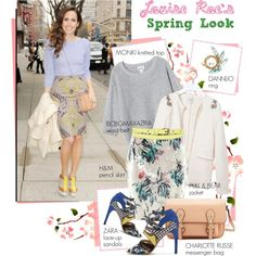 Look for less: Louise Roe's Spring Look, created by pocaqooka on Polyvore