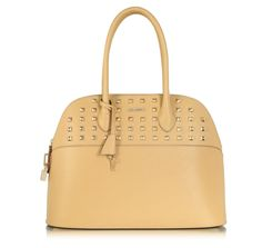 Rebecca Minkoff Andie Dome Studded Leather Bowler Bag prix promo Forzieri 396,00 € TTC