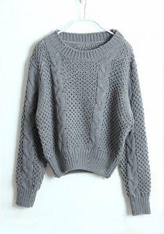 ++ Grey Sweater
