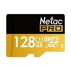 Netac 128GB Micro SD Card UHS I U3 Pro High Speed Micro SDXC TF Memory Card with - Cell Phones & Smartphones