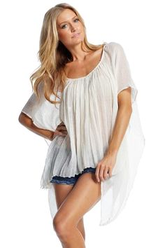 Beautiful flowing top #summertime #southern #light