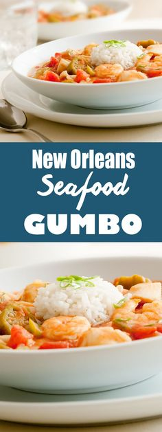 It's almost time for Mardi Gras! Get in the spirit of the festivities with this delicious New Orleans Seafood Gumbo featuring fresh shrimp, crabmeat and oysters. Perfect on a cold day, every bite will transport your guests right to Bourbon Street.  2 hour cooktime (approximate)   25 min prep   Serves 6-8