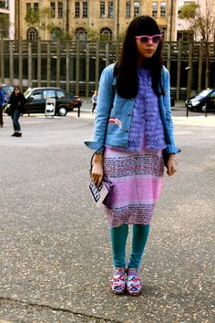 STYLE BUBBLE BLOGGER, SUSIE BUBBLE - LONDON FASHION WEEK - FEBRUARY 2013