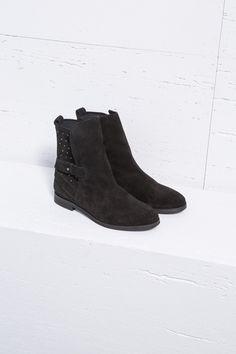 33502a76072 BOTA DE ANTE CON TACHUELAS » Zapatos » Mujer » Pedro del Hierro129